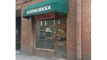 Helsingin Asenurkka Oy, Helsinki