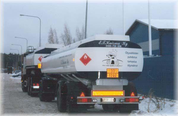 Öljysäiliötarkastus E.T.Kuisma Oy, Helsinki