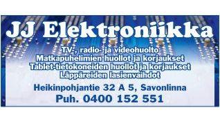 JJ Elektroniikka, Savonlinna