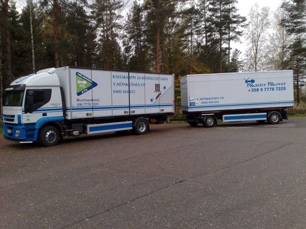 Kuljetusliike V. Mönkkönen Oy, Helsinki