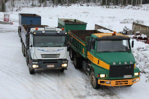 Maansiirto ja kuljetus J. Parviainen Tmi, Joensuu
