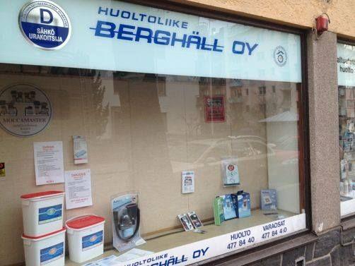 Huoltoliike Berghäll Oy, Helsinki