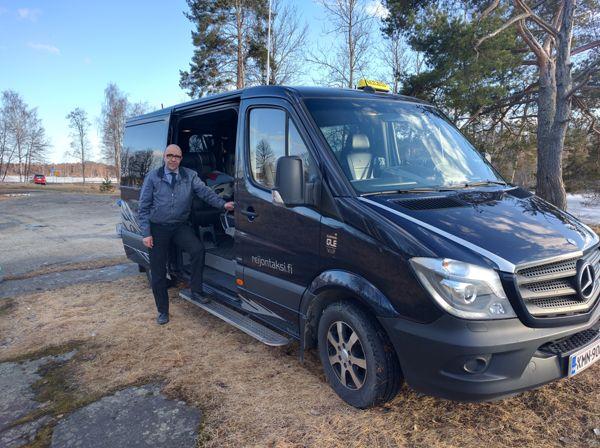 Palvelutaksi Reijo Helin, Savonlinna