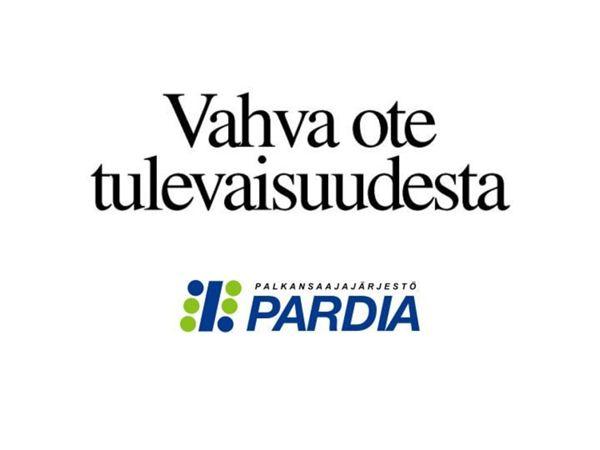 Palkansaajajärjestö Pardia ry Löntagarorganisationen Pardia rf, Helsinki