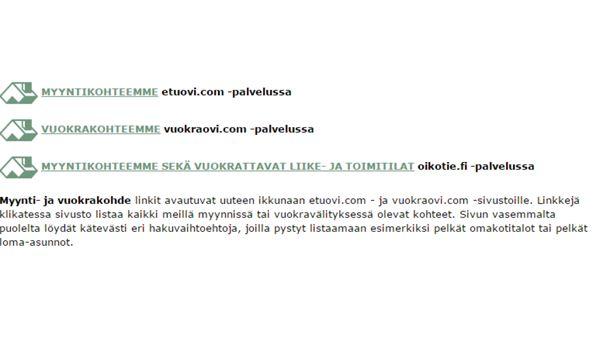 Valkeakosken Asunnonvälitys Oy LKV, Valkeakoski