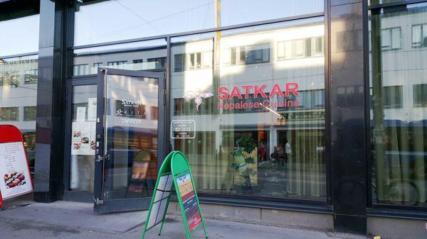 Ravintola Satkar Kamppi, Helsinki