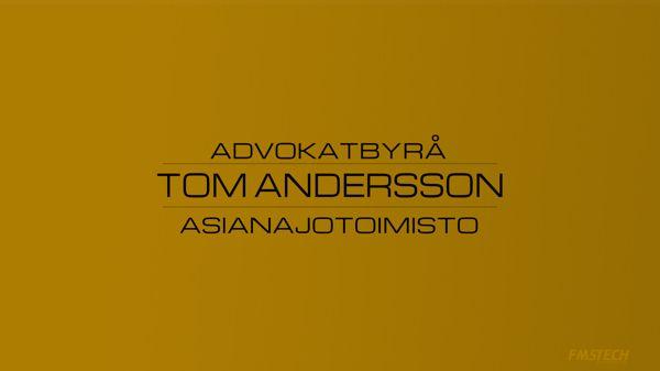 Advokatbyrå Tom Andersson - Asianajotoimisto Tom Andersson, Parainen