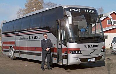 Tilausliikenne E. Karhu Ky, Kitee
