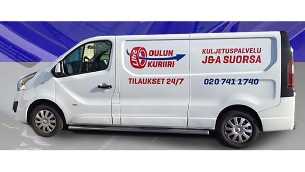 Oulun Kuriiri / Kuljetuspalvelut J & A Suorsa Avoin yhtiö, Oulu
