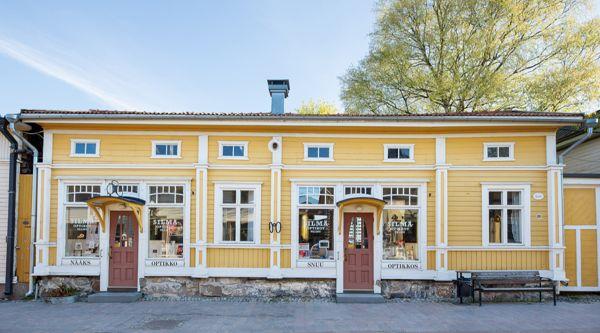 Silmäoptikot Palmu Oy, Rauma