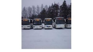 Linja-autoliike Veljekset Laitinen Oy, Kiuruvesi