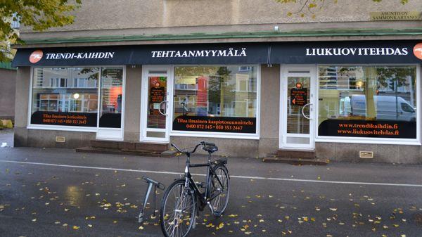 Tampereen Liukuovitehdas, Tampere