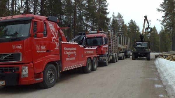 Hinauspalvelu Tauriainen Oy, Kuusamo