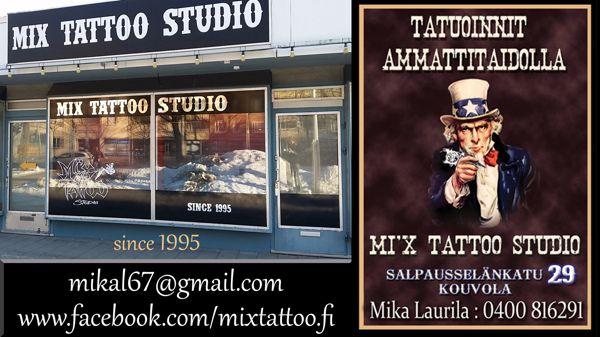 Mix Tattoo Studio, Kouvola