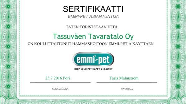 Tassuväen Tavaratalo Oy, Pori