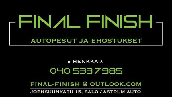 Final Finish Oy, Salo