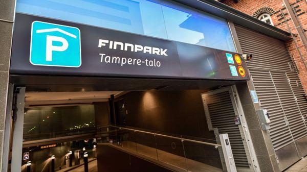 Finnpark Tampere-talo, Tampere