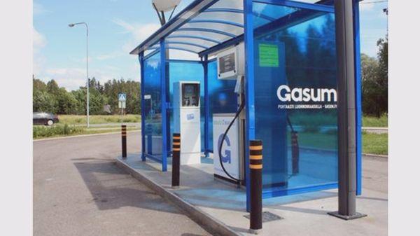 Gasum Vermo kaasutankkausasema, Espoo