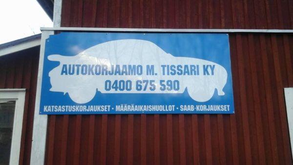 Autokorjaamo M. Tissari Ky, Kuopio