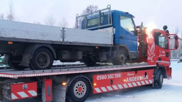 Hinausapu Andersson, Loviisa