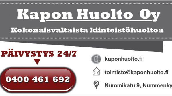 Kapon Huolto Oy, Järvenpää