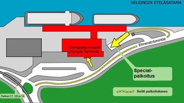 Special-Paikoitus, Helsinki