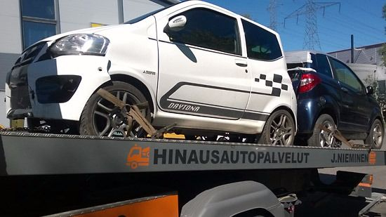 Hinausautopalvelut J. Nieminen, Tampere