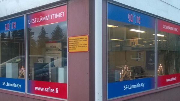 SF-Lämmitin Oy, Turku