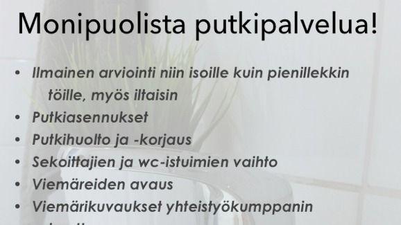 Putkihuolto Arina Oy, Espoo