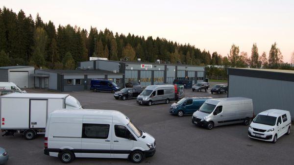 Hyötyajoneuvokeskus Vantaa