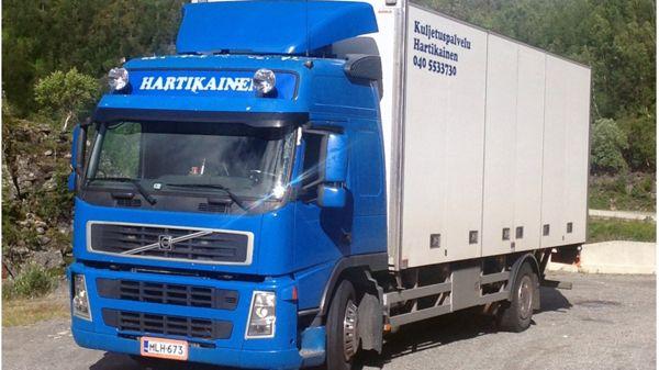 Kuljetuspalvelu Hartikainen, Kolari