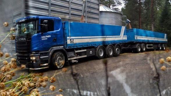 Kuljetus Matti Salonen Oy, Loimaa