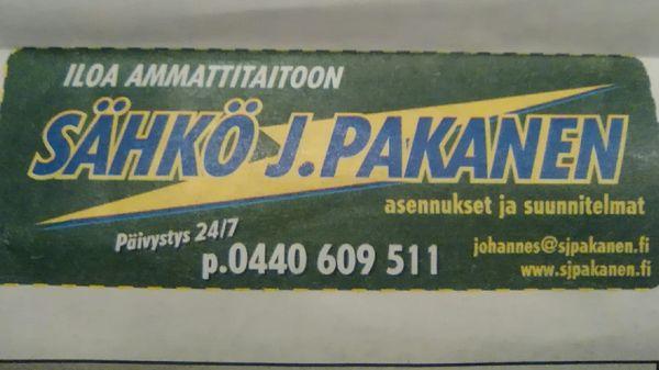 Sähkö J Pakanen, Pyhäjärvi