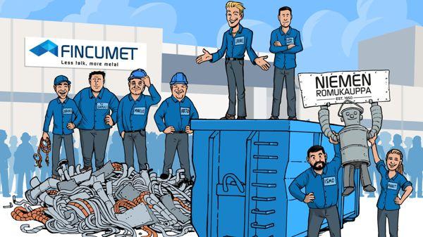 Fincumet Container Oy, Ikaalinen