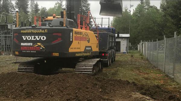Maansiirto Hämeenniemi Ky, Keuruu