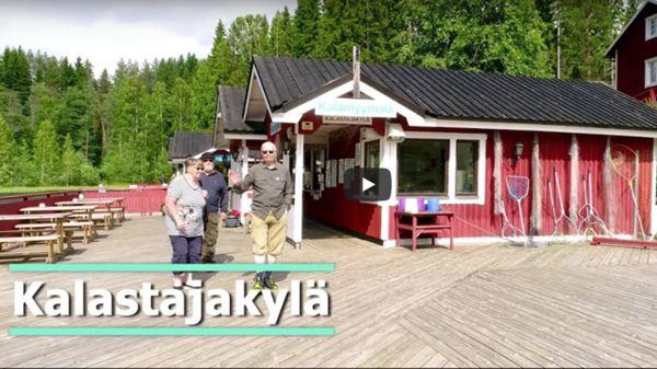 Puuha- ja eläinpuisto Veijari, Kalastajakylä, Saarijärvi