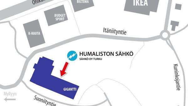 Sähkö Oy Turku / Humaliston Sähkö, Raisio