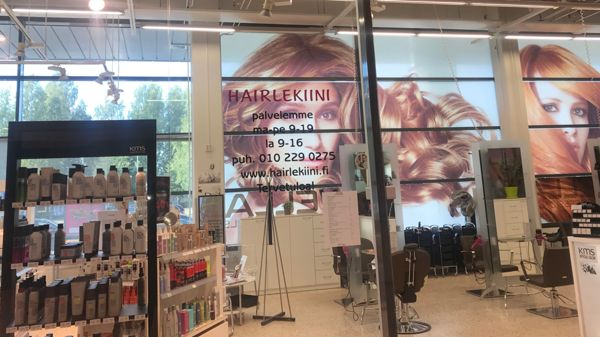 Hairlekiini Iisalmi Citymarket, Iisalmi