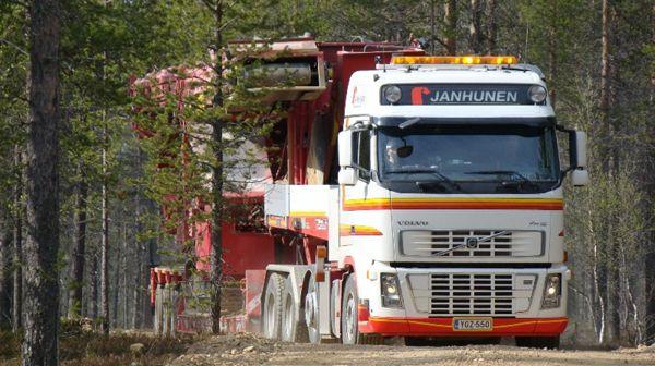Kuljetusliike Matti Janhunen Oy, Tampere
