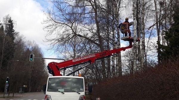 Helsingin puunkaatopalvelu, Nurmijärvi