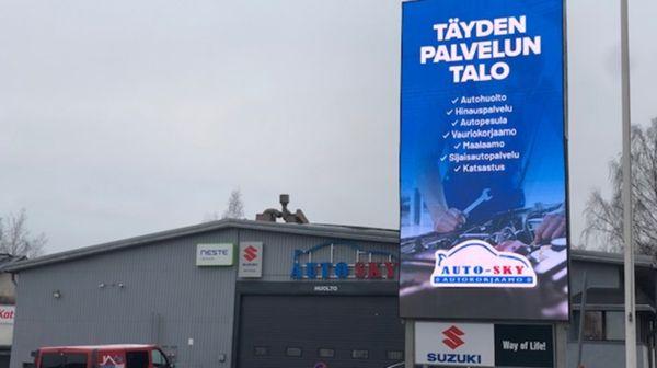 Auto Sky Oy, Helsinki