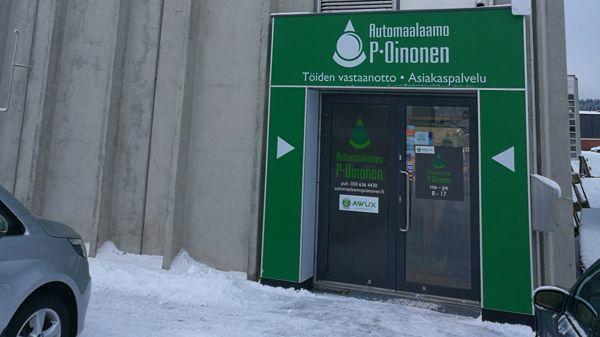 Automaalaamo P. Oinonen Oy, Tampere