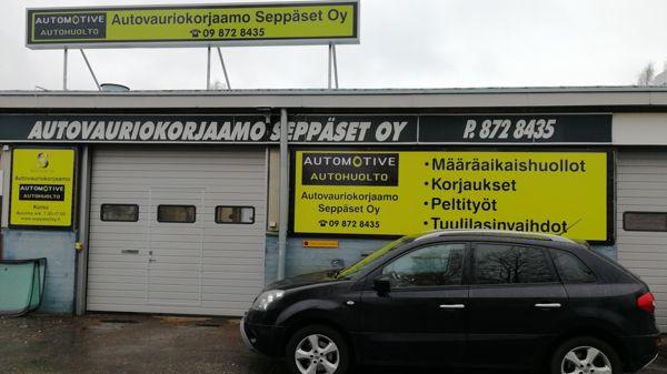 Autovauriokorjaamo Seppäset Oy, Vantaa