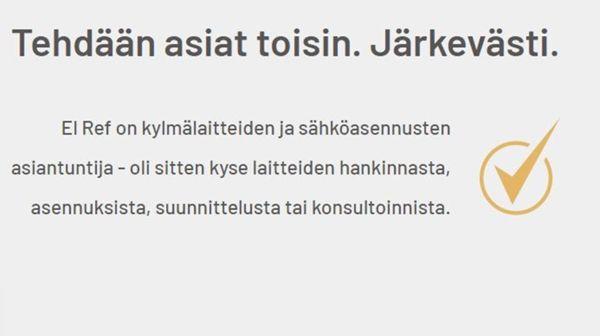 El Ref Oy, Kuopio
