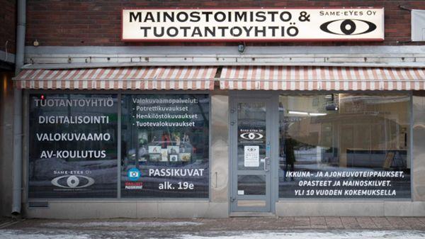 Mainostoimisto & Tuotantoyhtiö Same-eYes Oy, Kouvola