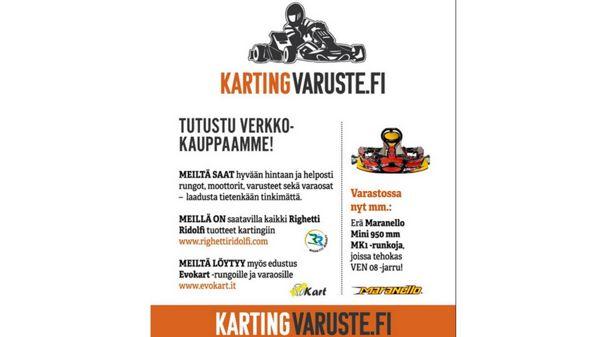 Kartingvaruste.fi, Pori