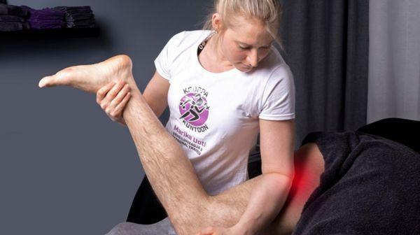 Urheiluhieroja&Personal Trainer Marika Uoti, Helsinki