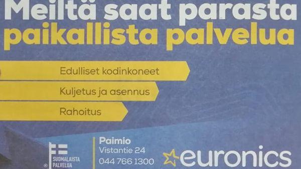 Euronics Paimio, Vistavisio, Paimio