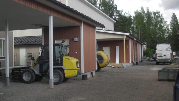 Rakennus P. Lehmonen Oy, Kouvola
