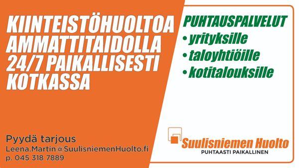 Kiinteistöhuolto Suulisniemen Huolto, Kotka